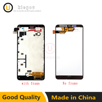 For Microsoft Nokia Lumia 640xl 640 Xl LCD Display With Touch Screen Digitizer Assembly With Frame