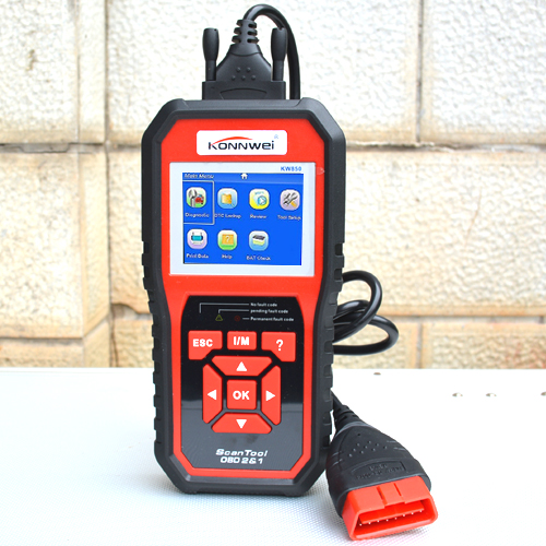 Car Diagnostic Tool OBD2 Auto Scanner KW850 ODBII Scanner Multi-languages Better Than AL519 Automotive Scanner best car tuning version vida dice 2014d for professional diagnostic scanner multi language warranty quality and free ship
