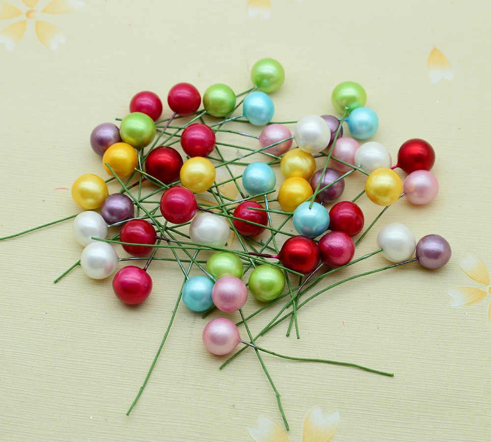 10 pièces mousse cerise pour la décoration de la maison accessoires noël mariage scrapbooking faux plastique bricolage couronne cadeau fleurs artificielles