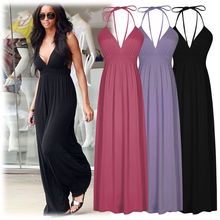 2019 Summer Women's Beach Dresses Personality Slim Tunic Long Casual sleeveless maxi sexy boho elegant ladies Dresses befree джемпер befree befree mp002xw120xl
