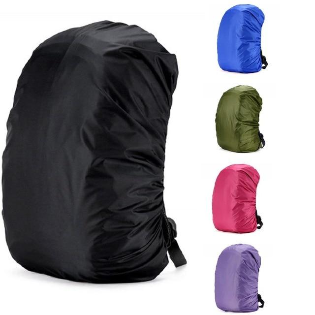 35 45L Adjustable Waterproof Dustproof Backpack Rain Cover Portable Ultralight Shoulder Protect Outdoor tools Hiking