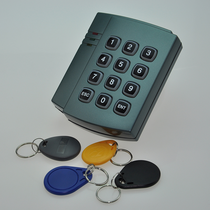 RFID Card Reader ST-D06 Weigand26/34 125KHz EM ID access reader ABS+Epoxy ip65 waterproof door access control card reader weigand26 125khz rfid color attention light em id card reader