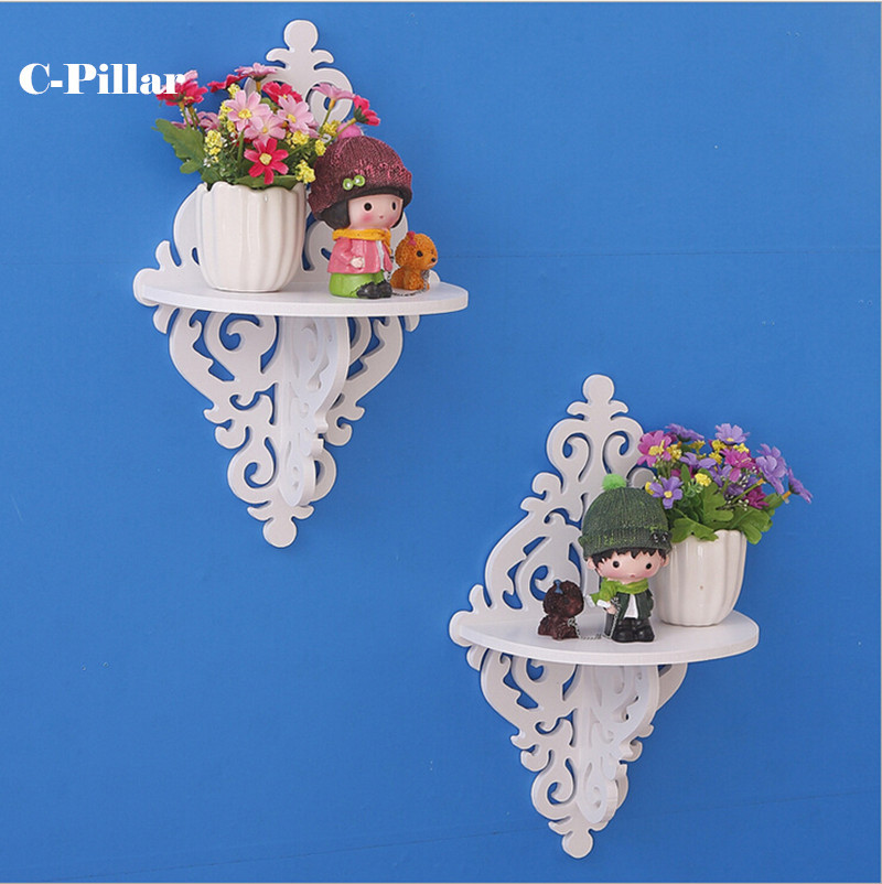 Aliexpress.com : Buy Creative Rural Single Wood Shelf Plastic Rack Bedroom Living  Room Wall Decorative Shelves Decorative Waterproof Storage Holders From ... Part 32