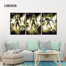 The Avengers Iron Man Canvas Poster Marvel Movie Wall Decorative Pictures Mark 21 25 Unique Gift Home Party Art Decorations