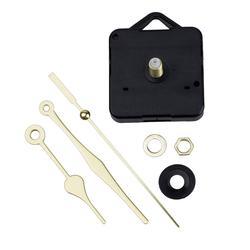 Кварцевые часы с механическим ходом золотые стрелки запасные части комплект