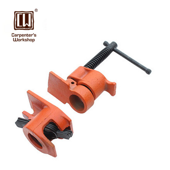 Carpenter s workshop heavy duty pipe clamp woodworking