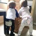 Lovely Girls Bebés Niños Chicos Pantalones Casuales Animales Lindos pantalones de Cintura Alta Pantalones Pantalones Del Bebé