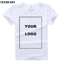 TEEHEART Customized Men S T Shirt Print Your Own Design High Quality Send Out In 3