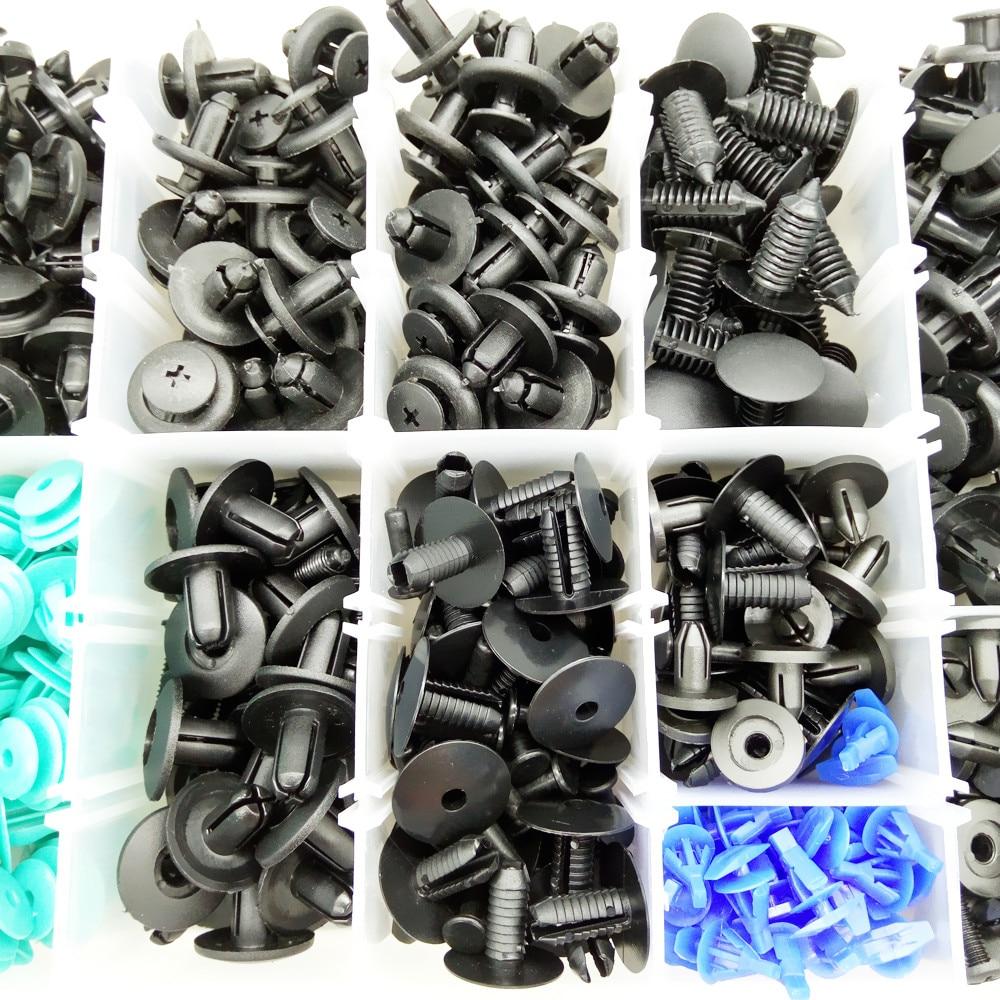 CNIKESIN 6-10mm voor Alle Auto Gemengde Auto Fastener Clip Plastic - Auto-interieur accessoires - Foto 4