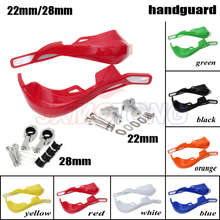 Handlebar Hand Guards Handguard Protector Protection 22 28mm Alloy Insert For KTM KLX KXF KDX Pit Dirt Bike Motorcycle
