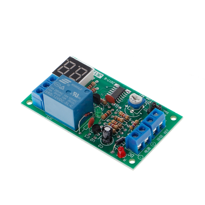 Dc 12v Delay Relay Delay Turn Off Switch Module With Led