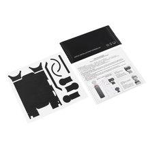 Модные однотонные цветные стикеры Роскошный металлический цвет кожи водонепроницаемые ПВХ наклейки для DJI OSMO карманная металлическая матовая текстура пленка