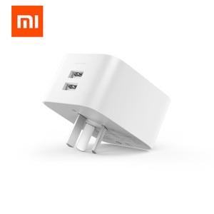 Image 2 - Xiaomi mi jia akıllı mi temel soket güncelleme Sürümü, 2 USB arayüzü/BC1.2 için hızlı şarj xiaomi akıllı ev kitleri