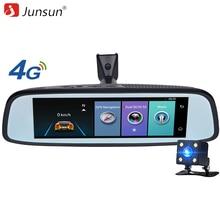 """Junsun K755 Cámara Del Coche Espejo Especial 4G LTE 7.86 """"Android ADAS GPS DVR Registrador Dash Cam Video Recorder con dos cámaras"""