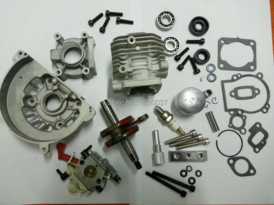 30.5cc 4 Bolt Big Bore Kit & walbro 668 carbur fit CY ZENOAH HPI KM Engine parts 27 5cc 2t 4 bolt gasoline engine walbro 668 carburetor ngk spark plug 7000 light clutch fits hpi baja 5b losi 5ive t redcat