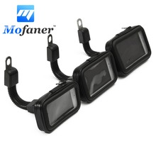 Motorcycle Bicycle Phone Holder Waterproof Bag Case For 3.5 To 5.5 Inches L M S Size Universal Navigation Bracket