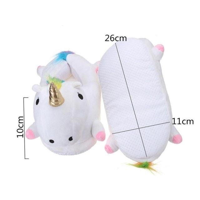 Light-up unicorn slippers 1