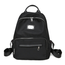 цена на Oxford Backpack Black Waterproof Nylon School Bag Contracted joker khaki Leisure Or Travel Bag High Quality Solid Shoulder bag