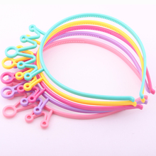 Cool Shopping Cute Children'hairbands Colors Tiaras hair clips fashion quality plastic hair accessories for girls