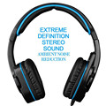 SADES SA-708 GT Stereo Gaming Headset Over Ear Computer Headphone with Mic for Laptop PC Mac XBOX PS4 PS3 Phones iPhone Miezu LG
