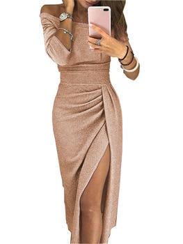 9d9568922 2019 verano nuevo mujeres Rosa acolchado azul vestido de tanque único  Breasted medio cintura alta paso vestido profesional Casual vestido