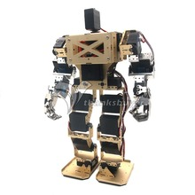 17DOF Bípedo Humanoide Robot Antropomórfico Batalla Combate Robot Altura 38 cm para Robótica BRICOLAJE Ensamblado