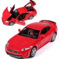 1:32 modelos de automóviles de aleación, alta simulación modelo Jaguar, metal a troquel, automóviles de juguete, tire hacia atrás de moviles y musicales, envío libre