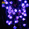 2017 Decor.  Rose Multicolor LED String Lights Battery Event Christmas Wedding Birthday Party Decoration Lightings Casamento