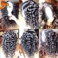 8A Brasileño Rizado U Parte Pelucas de Pelo Humano Para Las Mujeres Negras Virgen Del Frente Del Cordón U Parte Peluca de Cabello humano Para La Venta Completa de Cabello Natural peluca