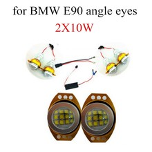 60WX2 for BMW E90 E91 LED Angel Eyes Marker light bulb lamp 2 pieces/lot headlight car styling high quality
