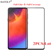 2PCS For Samsung Galaxy A60 Glass Tempered for Film Full Glue Screen Protector