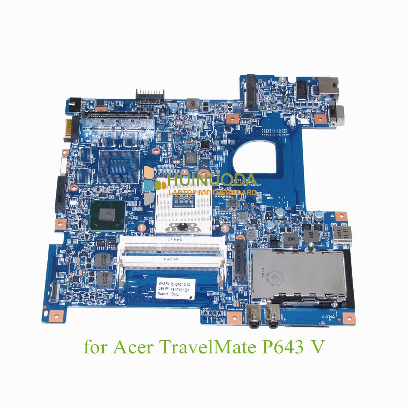 все цены на NOKOTION Laptop Motherboard For Acer TravelMate P643 Main board HD DDR3 NB.V7K11.001 онлайн