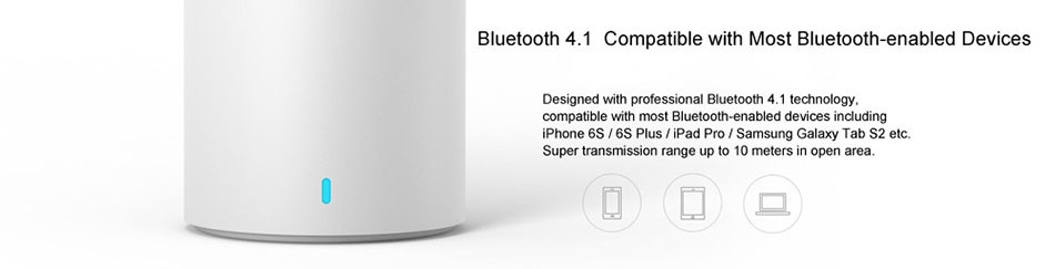 Original xiaomi speaker version 2 cannon TYMPHANY speaker 1200mah battery xiaomi bluetooth speaker 2ND 7
