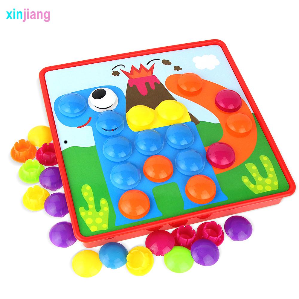 3d Puzzles Toys For Children Creative Assembly Mosaic