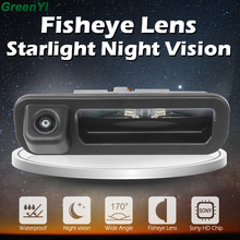 Sony MCCD Fisheye Lens Starlight Night Vision Trunk Handle Camera Rear View Camera For Ford Focus 2012 2013 For Focus 2 Focus 3
