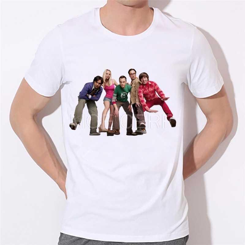 De Oerknaltheorie mannen shirt Mannen & Vrouwen Grappige T-Shirt Fabriek directe verkoop kan worden aangepast volgens uw foto 87-10 #