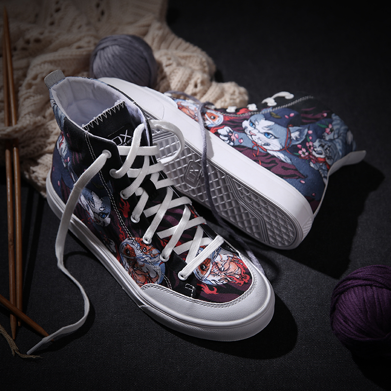 Culture Confortable D'origine Travail Chat Chaussures Idx Chinois Im Homme Oldschool Graffiti Rue qE8wfx