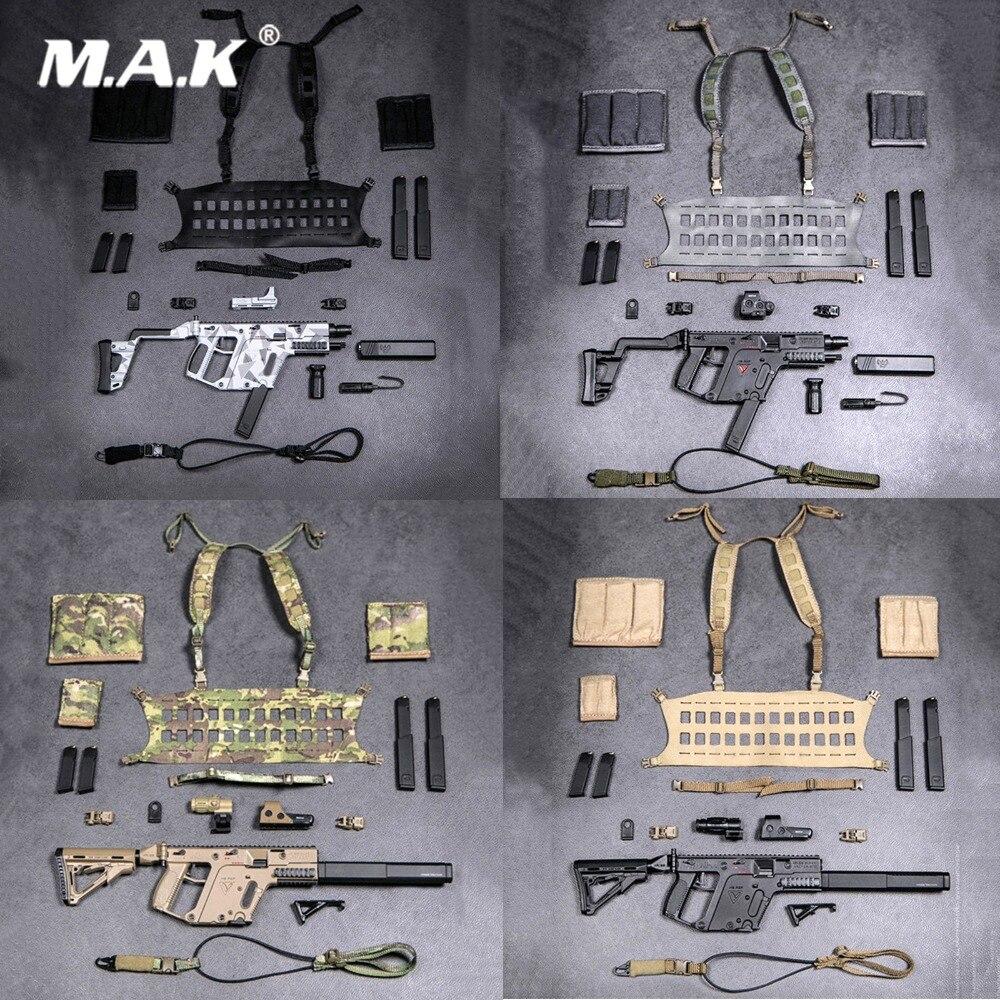 1/6 Tactical Vector Maschinenpistole Set Waffe Spielzeug Figur Schusswaffen Modell Für 12 Zoll Soldat Figur Zubehör Sammlung