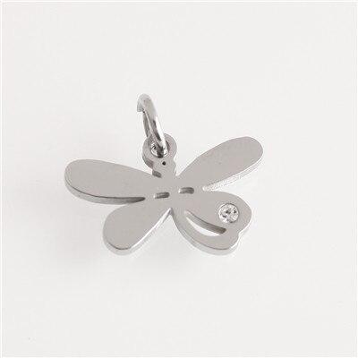 Горячее предложение! Позолоченные/посеребренные подвески из нержавеющей стали, модные подвески в форме Креста в форме звезды, ювелирные изделия, сделай сам, браслет, ожерелье, аксессуары - Окраска металла: AC18269