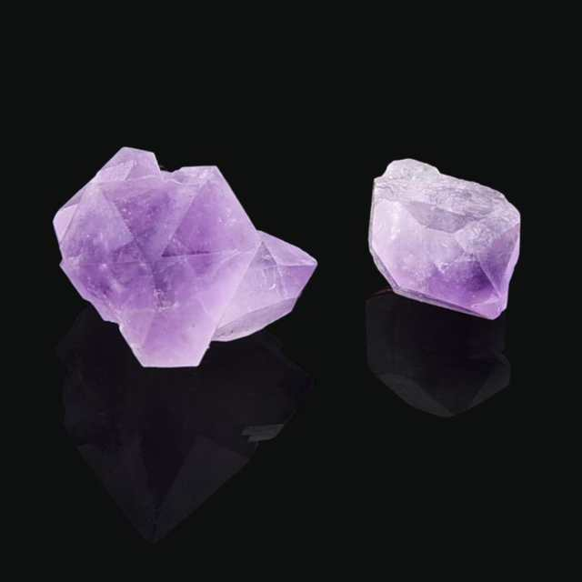 Natural Hexagonal Crystal Quartz Healing Fluorite Wand Stone Purple Purple  Gem Natural amethyst single crystal Dropship 2018a26