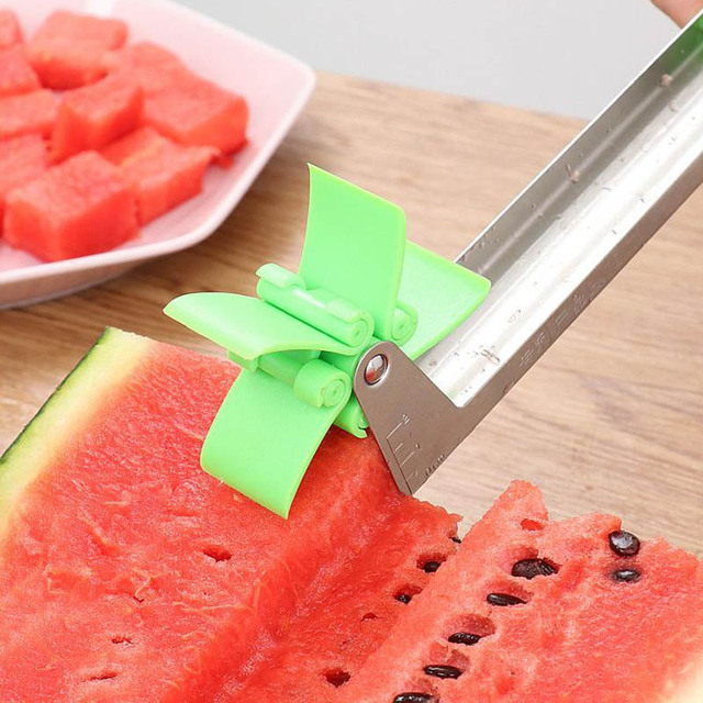 Watermelon Windmill Cutter Stainless Steel Cutting Watermelon Artifact Fruit Cutting Artifact Creative Style Cutting Fruit Slice 2
