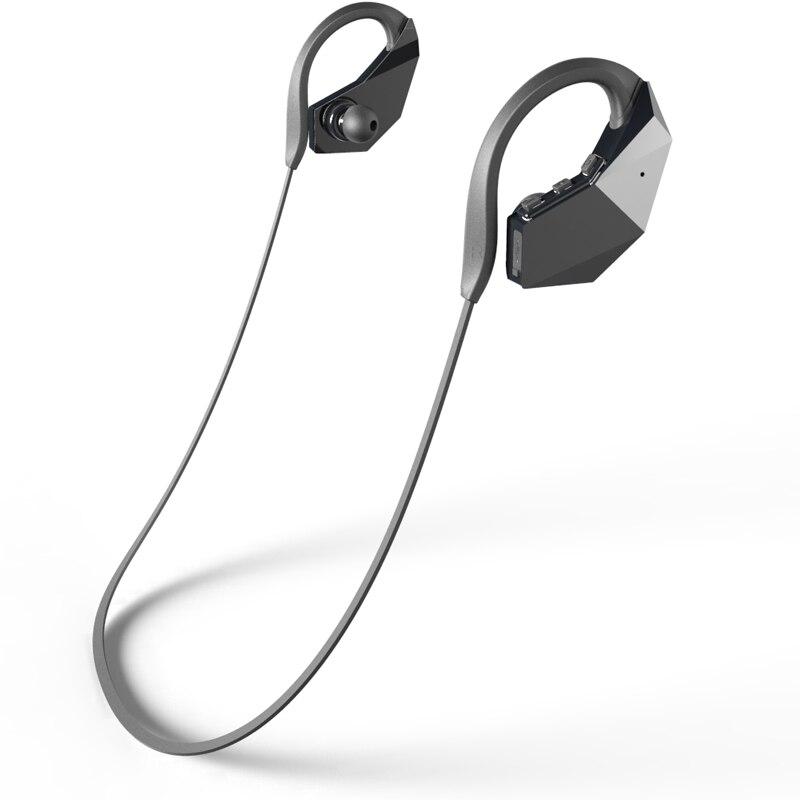 все цены на Earphones IPX8 Waterproof Bluetooth Earphone wireless Sports Headset headphone TF Card Mp3 Player Stereo Earbud for Smart Phone онлайн