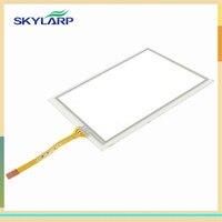 3 8 Inch TouchScreen For Trimble TSC2 AMT98636 AMT 98636 Touch Screen Digitizer Sensors Front Lens