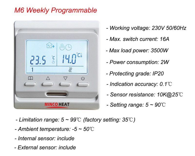 M6 thermostat