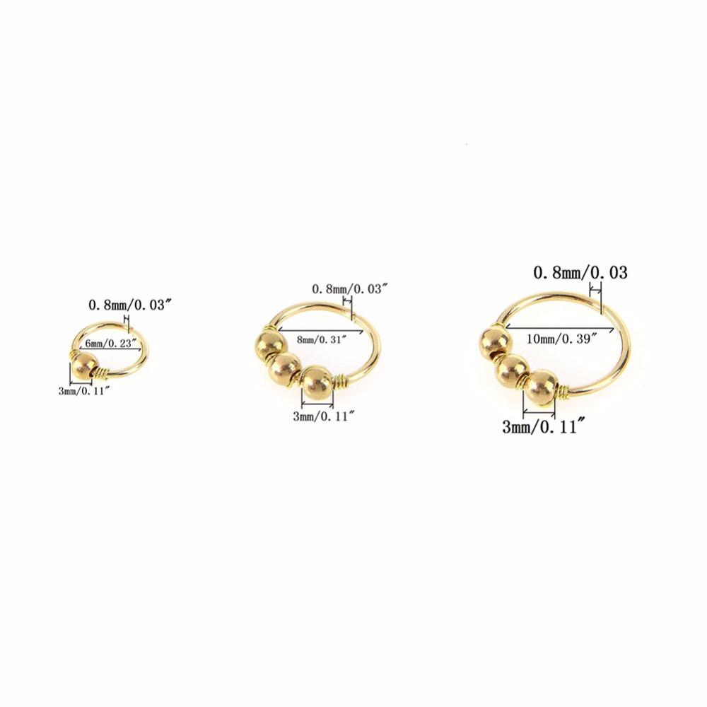 HTB1yyZ6SXXXXXaMapXXq6xXFXXXl Nose Ring Nostril Hoop Body Piercing
