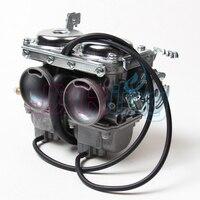 Livraison gratuite KEIHIN Duplex Double Cylindres Rebelles Carburateur Assy Set Chambre Set CMX 250 CBT250 CA250 300cc Moto Scooter