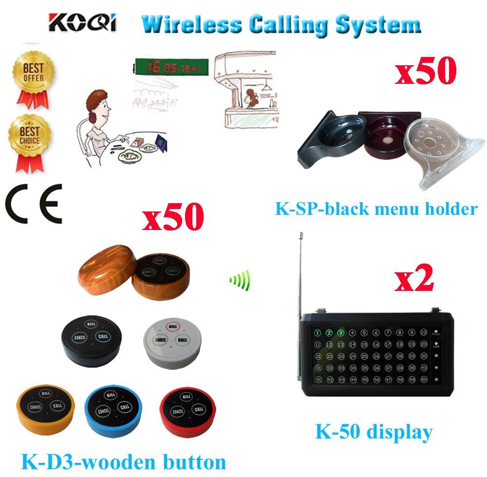 O3-g Wireless Service-system K-236 H Mit Anrufglocke Und Display Empfänger Für Wireless Und Schnellen Service Dhl Freies Verschiffen Zu Verkaufen