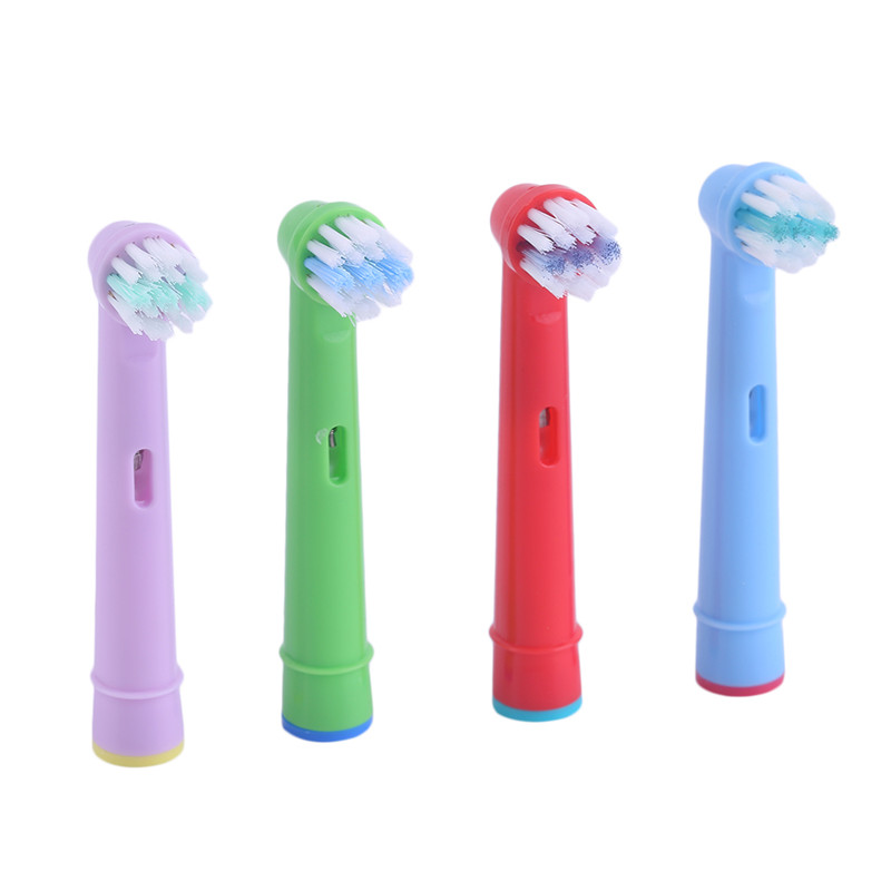 Replacement Tooth Brush Heads For Oral B EB-10A Pro-Health Stages Electric Toothbrush Oral Care Kids Children image