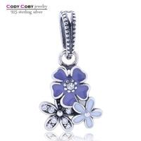 Aliexpress 100 925 Sterling Silver Poetic Blooms Beads Fit Original Pandora Charm Bracelet Authentic Luxury DIY