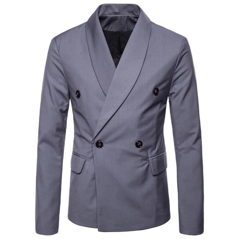Nouvelle-Arriv-e-Solide-Couleur-Double-Breasted-Hommes-Blazer-Costume-Veste-Formelle-D-affaires-Outwear-Robe_